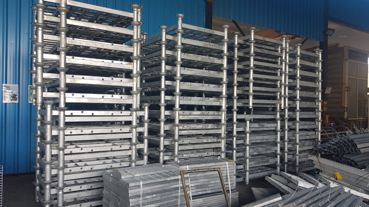 COLD STORE CONVERTER-COLD STORE GALVANIZED STACKABLE STEEL PALLET CONVERTERS FOR COLD STORES IN RIYADH-CONVERTER-OMAN PALLETS