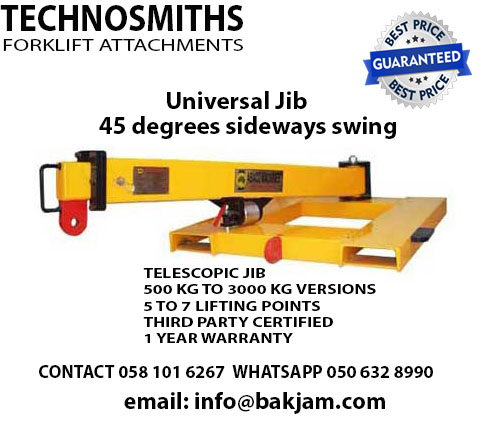 FORKLIFT ATTACHMENTS-JIBS AND BOOMS